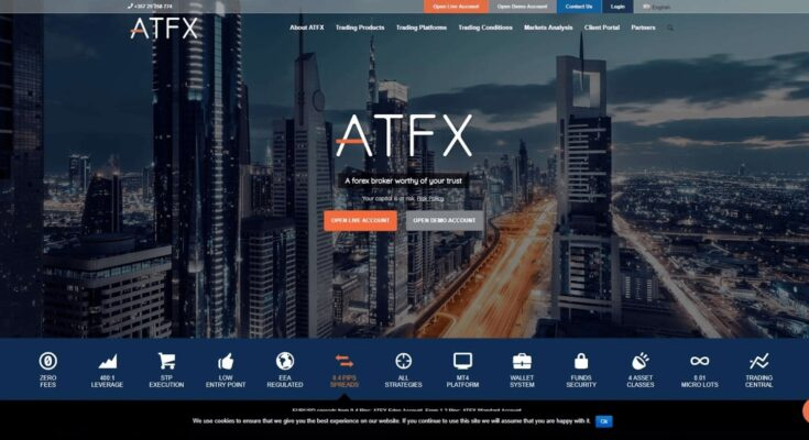 ATFX - A Complete Exchange Brokerage Firm Review